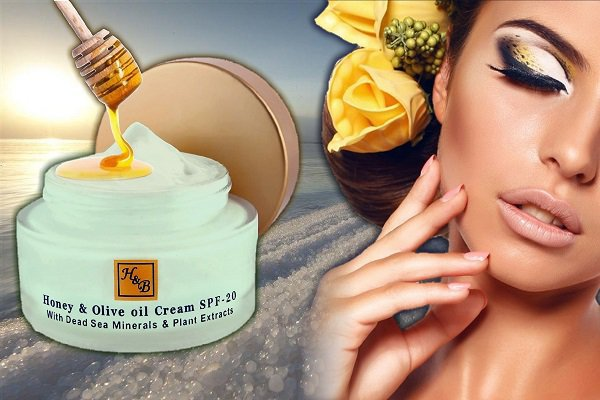 Olive Oil & Honey Cream SPF-20