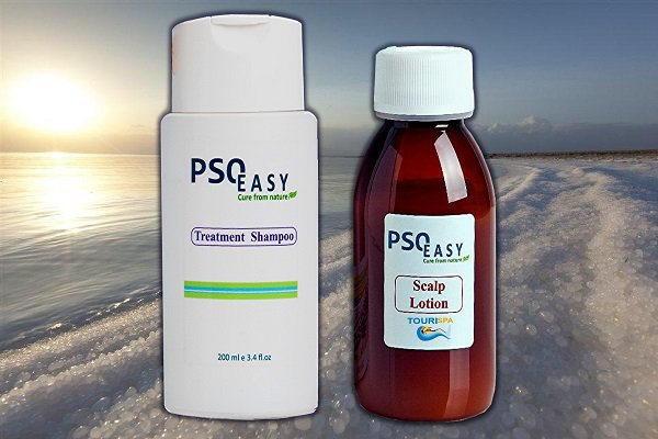 Kit PsoEasy Shampoo & Scalp Lotion package