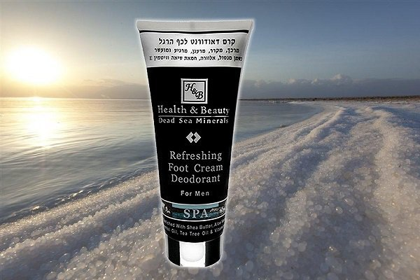 Refreshing Foot Cream Deodorant