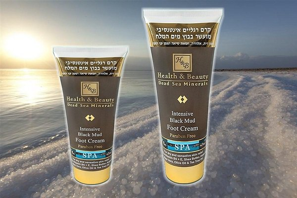 Intensive Black Mud Foot Cream