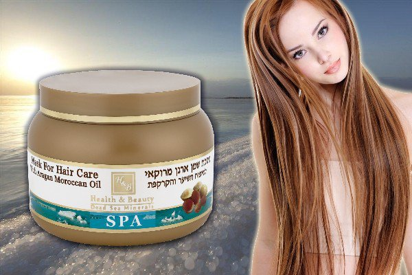 Hair Mask with Aragan Oil from Morocco