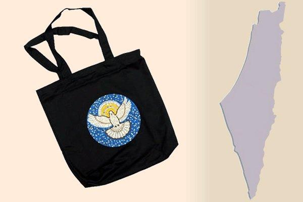 Mosaic Dove Bag